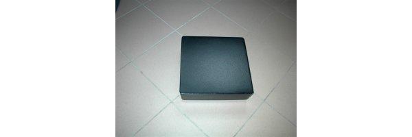 Rollenplatten Ku quadratisch mit Lenkrollen