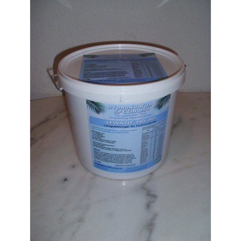 lewatit hd50 5 liter eimer 103 95 hydrokultur spezialist. Black Bedroom Furniture Sets. Home Design Ideas
