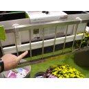 Balkonkastenhalter - Ergänzung - weiß