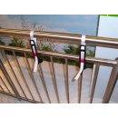 Balkonkastenhalter - Ergänzung - schwarz